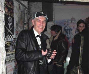 Denis Sire, jovial, était présent à la soirée