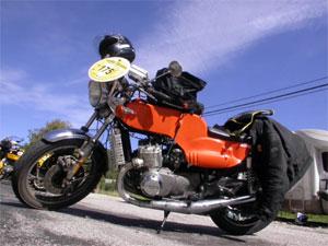 La moto de Gilbert