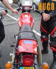Le Laverda 500 d'Hugo