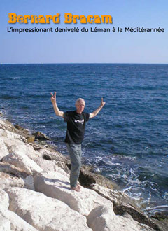 """Bernard Lerêche, dit """"Bracam"""", savourant son bonheur face à l'improbable grande mare"""
