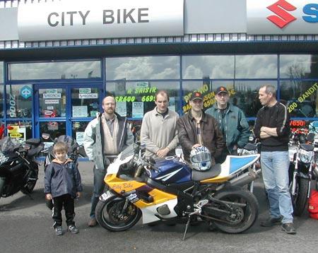 City Bike, éleveur de motard au grain